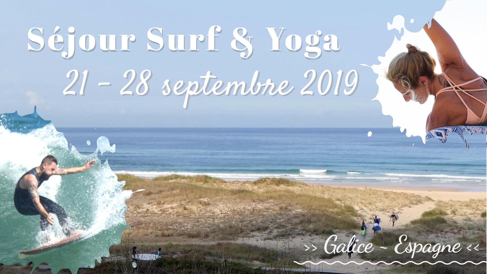 Séjour Surf Yoga 22 au 29 septembre 2019 Soulshine