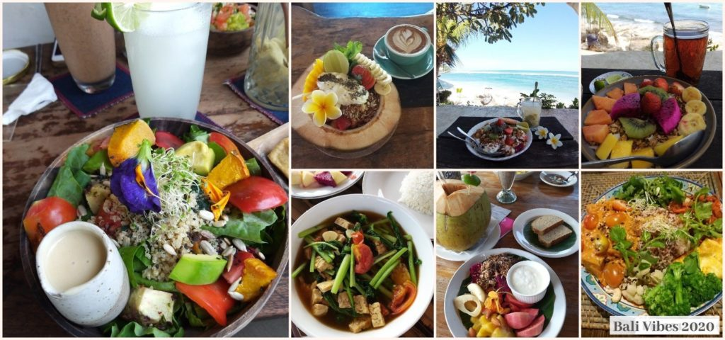 Healthy Food - La restauration - Retraite Yoga Bali Vibes