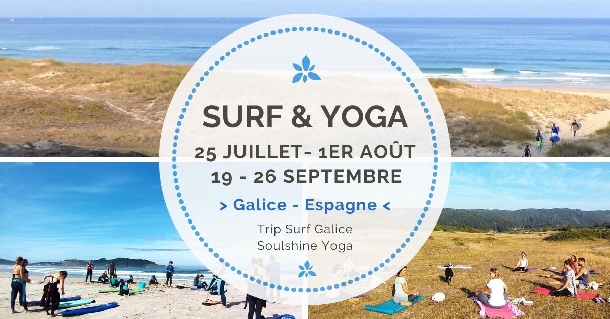 Surf Yoga Stage Retraite Galice Juillet Septembre 2020 Soulshine