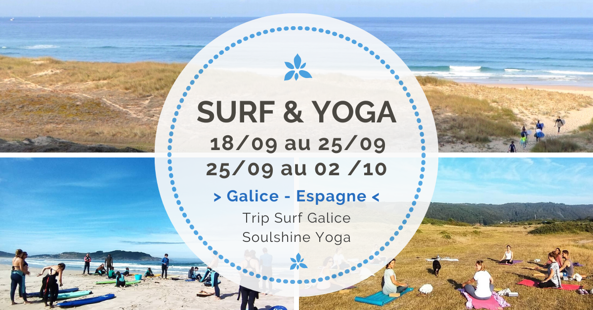 Surf Yoga Galice 2021