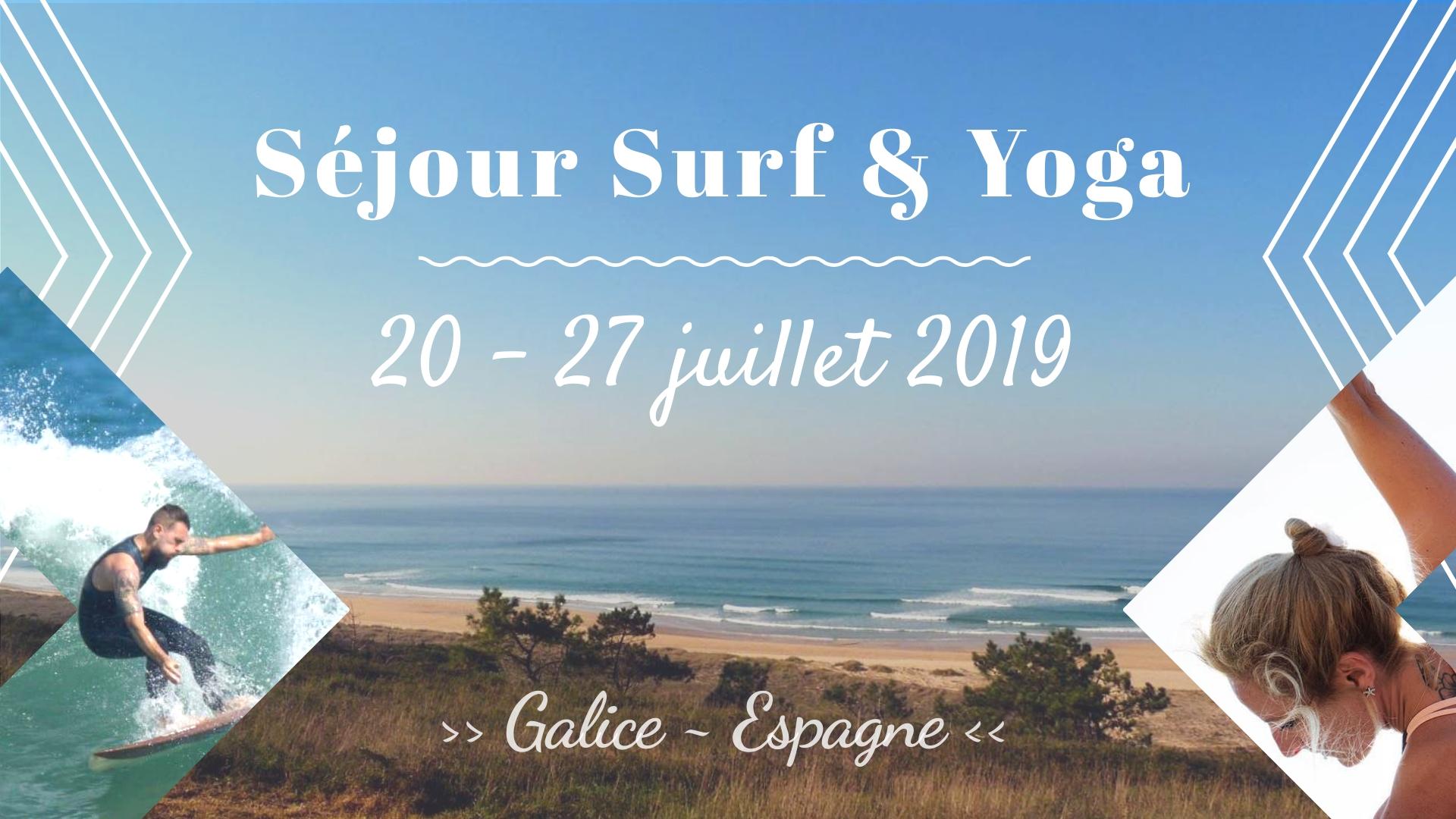 Séjour Surf Yoga Galice Soulshine